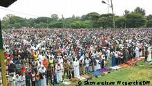 Äthiopien Eid Al Adha in Hawassa. Foto: Shewangizaw Wegayehu/DW 20.7.21
