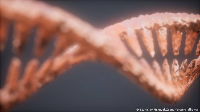 Wissenschaft DNA Doppel-Helix