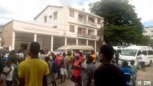 Verkehrsstreik in Pemba hat die Stadt gelähmt. Rechte: DW