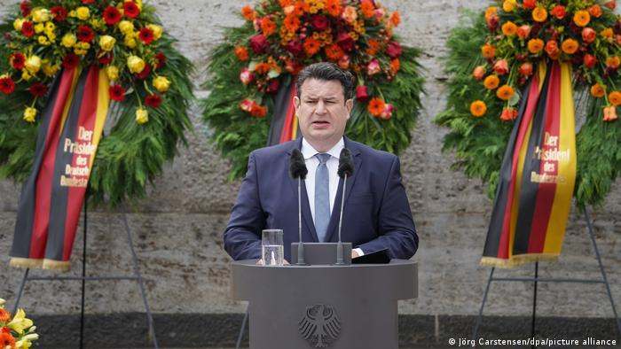 Deutschland Berlin | Jahrestag des Stauffenberg-Attentat | Hubertus Heil