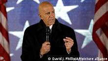 President inauguration committee chairman Tom Barrack speaks at a pre-Inaugural Make America Great Again! Welcome Celebration at the Lincoln Memorial in Washington, Thursday, Jan. 19, 2017. (AP Photo/David J. Phillip)