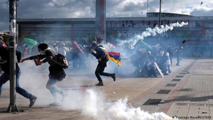 Kolumbien Krise l Proteste in Bogota