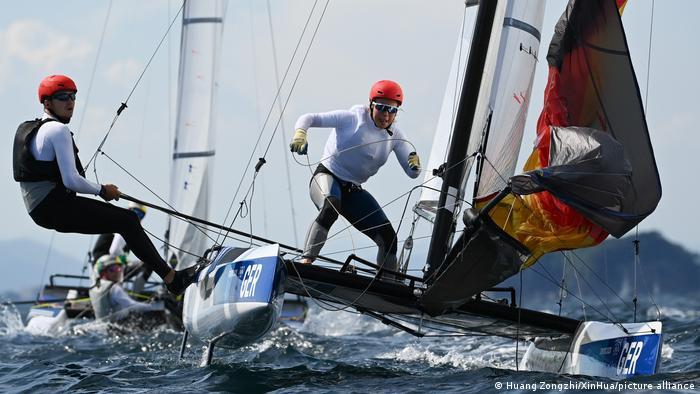 BDT | Tokio 2020 - Segeln Training von Paul Kohlhoff und Alica Stuhlemmer