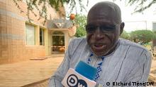 Gustave Sorgho, Schauspieler in Burkina Faso Richard Tiéné, DW-Korrespondent in Burkina Faso, 13.07.21