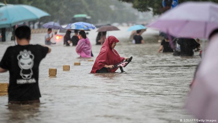 Според метеоролозите, такъв дъжд имало само веднъж на сто години