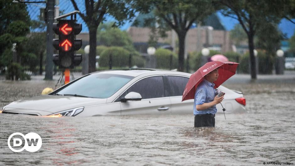 Tödliches Extrem-Wetter schockt die Welt
