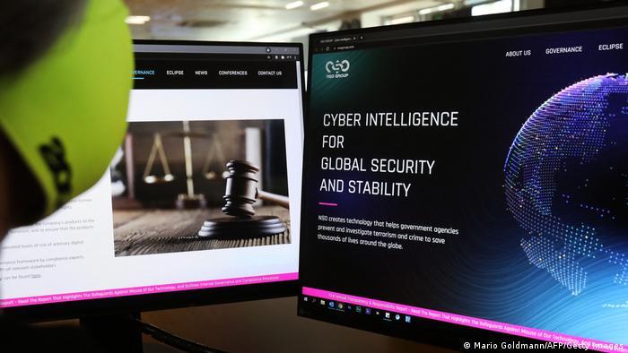 Zypern | Pegasus Spyware | Webseite NSO Group