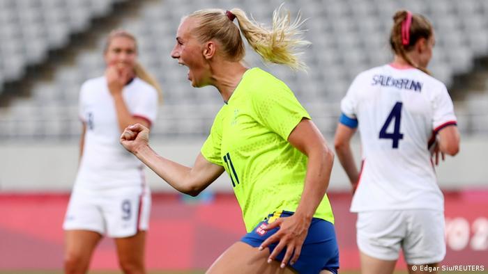 Olympische Spiele 2021 | Fußball Frauen | USA vs. Schweden