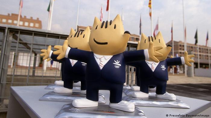 Талисман Олимпийских игр в Барселоне - Коби