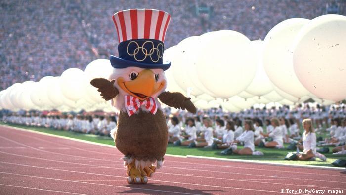 Орленок Сэм - талисман Олимпиады 1984 года