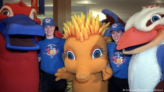 Талисманы Олимпиады 2000 года в Сиднее