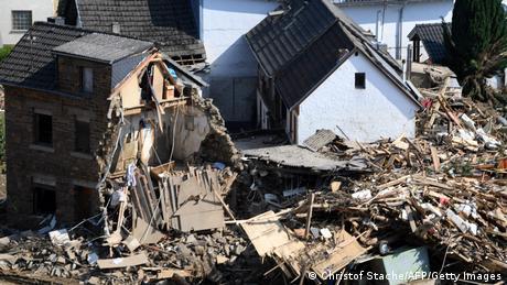 Deutschland | Schäden der Flutkatastrophe in Altenahr