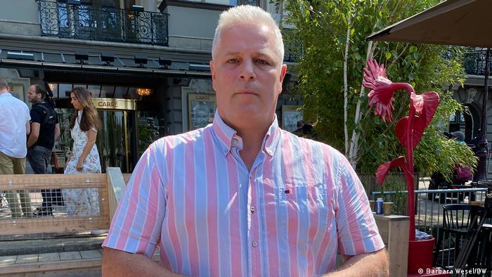 Gerrit van de Kamp von der niederländischen Polizeigewerkschaft ACP