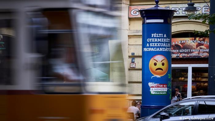 Ungarn Budapest | Plakatkampagne | Sexuelle Propaganda