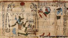 Antiquite egyptienne : la pesee des ames (psychostasie) - Papyrus d un Livre des morts - Turin, musee egyptien --- Egyptian civilization: the weighing of the soul - Detail of Book of Dead, papyrus preserved at the Egyptian Museum of Torino, Italy !AUFNAHMEDATUM GESCHƒTZT! PUBLICATIONxINxGERxSUIxAUTxHUNxONLY LR9521007 Egyptienne La the Ames Papyrus D UN livre the Morts Turin Musee Egyptien Egyptian Civilization The weighing of The Soul Detail of Book of Dead Papyrus Preserved AT The Egyptian Museum of Torino Italy date estimated PUBLICATIONxINxGERxSUIxAUTxHUNxONLY LR9521007