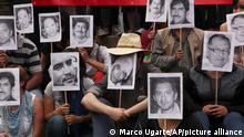 FILE - In this Feb. 23, 2014 file photo, journalists protest the murder of their colleague from Veracruz state, Gregorio Jimenez, and other slain journalists in Mexico City. The popular Hay literary festival announced on Friday, Feb. 6, 2015 that it's abandoning its venue in Veracruz state and holding the event online instead to protest the killings of journalists after they received calls from hundreds of writers, intellectuals and journalists for the festival not to be held in Veracruz. Many hold authorities responsible for recent killings and disappearances of reporters. (AP Photo/Marco Ugarte, File)