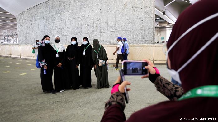 Jährliche Hadsch-Wallfahrt in die heilige Stadt Mekka