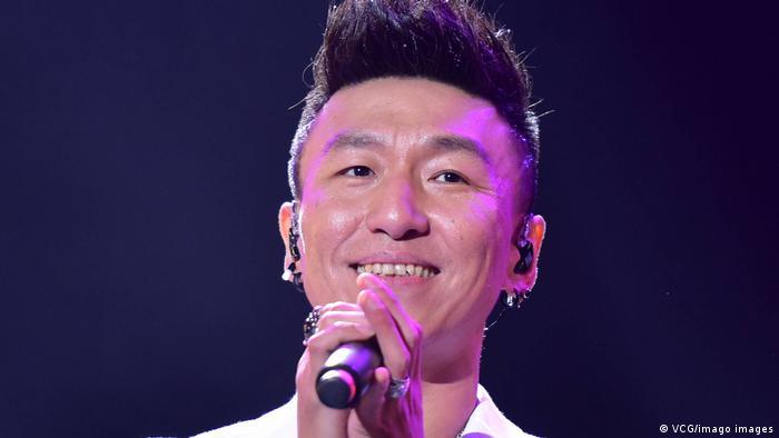 China | Schauspieler und Sänger Chen Yufan