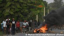 Unrest in Cap Haitien, Haiti