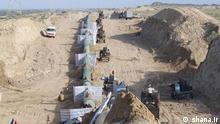 Erdöl Pipeline Goreh – Jask im Süd Iran