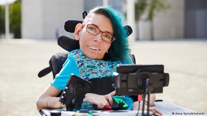 Deutschland Melanie Eilert Aktivistin für barrierefreies Gaming
