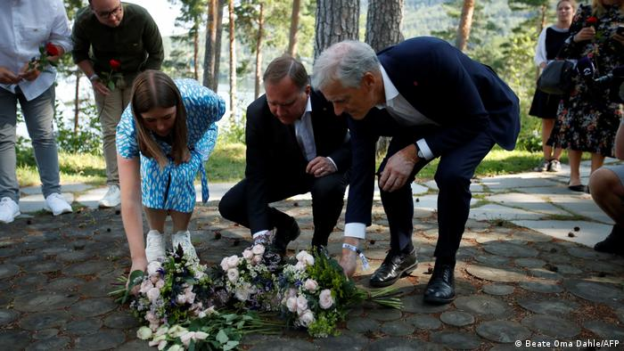 Norwegen Utoya | Gedenken an die Opfer der Terrroraattacke 2011