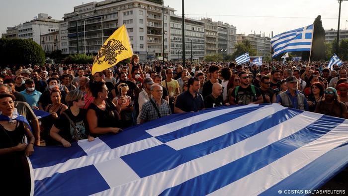 Protesti u Grčkoj protiv obaveznog cijepljenja