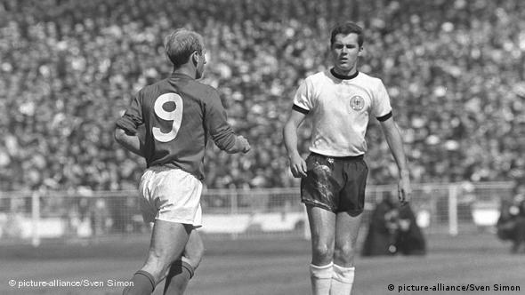 Finale SP-a 1966.: Beckenbauer i Charlton