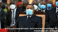 Präsident von Kongo Brazzaville, Denis Sassou Nguesso Copyright: Giscard Kusema, vom Presse- und Kommunikationsdienst der Präsidentschaft des Kongo.