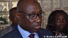 Photo-1: Braima Camará, leader of MADEM-G15, Guinea-Bissau's political party Date: 22.07.2021 Author: - 1 Braima Darame, DW Location: Bissau, Guinea-Bissau Keyword: MADEM-G15 leader, Braima Camará, MADEM