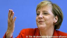Deutschland, Berlin | Pressekonferenz von Angela Merkel am 21.08.2006
