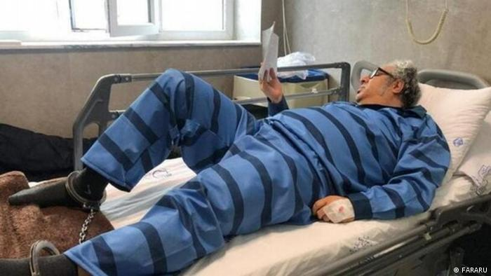 Iran politischer Gefangener Baktash Abtin
