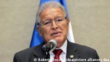 epa04149092 Salvadorean president elect Salvador Sanchez Ceren, speaks during a press conference in San Salvador, El Salvador, 31 March 2014. Ceren announced he will visit between 01 and 03 April, the leaders from Panama, Nicaragua and the Dominican Republic, respectively to invite them to his investiture and to discuss issues of common interest. EPA/Roberto Escobar ++