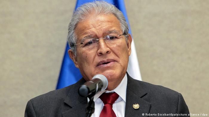 Former El Salvador President Sanchez Ceren