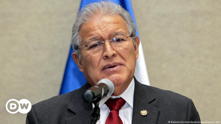 El Salvador orders arrest of ex-president Sanchez Ceren   News   DW    23.07.2021