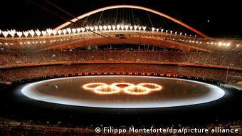 Αθήνα 2004, Τελετή έναρξης, Ολυμπιακοί Αγώνες,