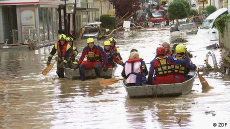 Les inondations ont fait des milliers de sinistrés en Allemagne