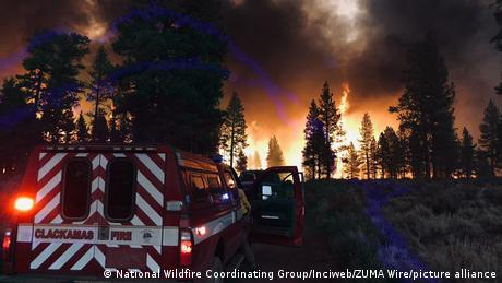 US Waldbrände in Oregon
