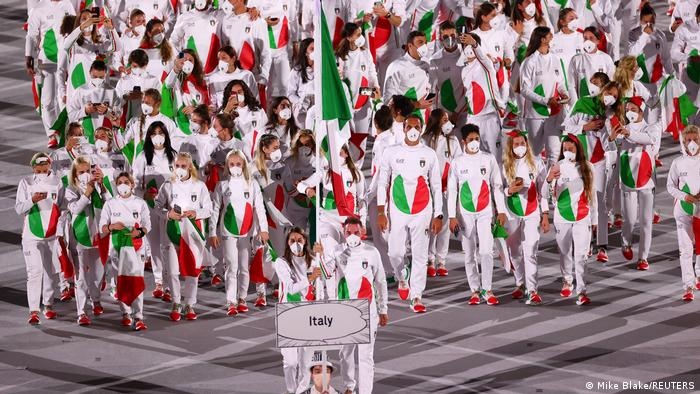 Eröffnungsfeier Olympische Spiele Tokio 2020 | Italien
