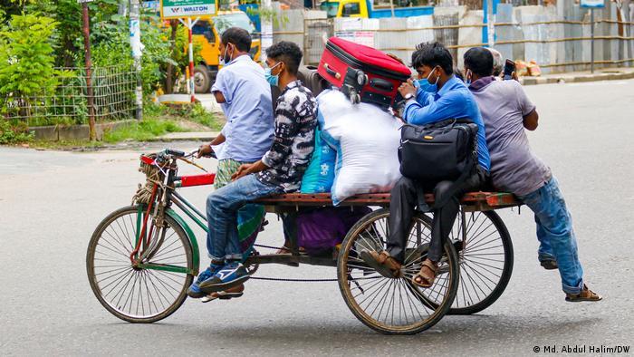 Bangladesch Dhaka   Coronavirus   Lockdown