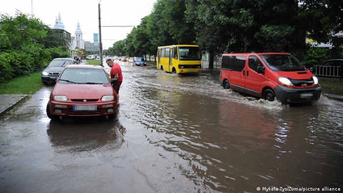 Львів після зливи