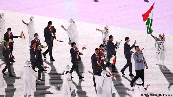 Eröffnungsfeier Olympische Spiele Tokio 2020 - Tadschikistan