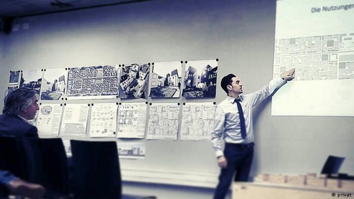 المهندس ماهر دعبول يعرض مشروعه لإعادة إعمار سوريا