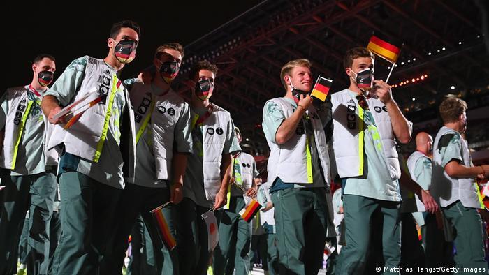 Eröffnungsfeier Olympische Spiele Tokio 2020 - Deutschland