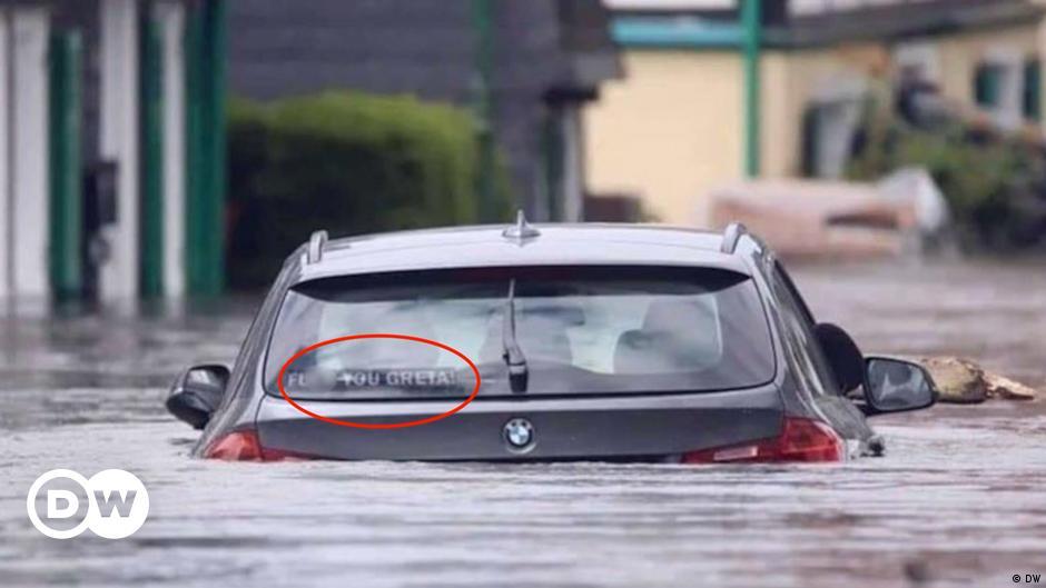 Die Fakes der Hochwasser-Katastrophe