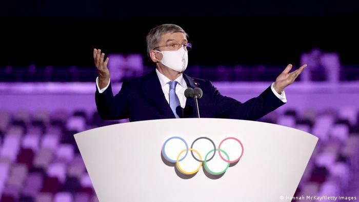 Eröffnungsfeier Olympische Spiele Tokio 2020 - IOC Präsident Thomas Bach