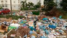 Müllberge wachsen in verschiedenen Vierteln Luandas weiter an