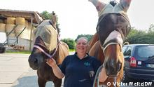 Sandra Bischoff mit ihren Pferden DW, Victor Weitz
