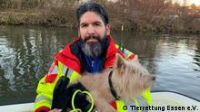 Leiter der Tierrettung Essen e.V. - Stephan Witte (Tierrettung Essen e.V.) Tierrettung Essen e.V. ©Tierrettung Essen e.V.