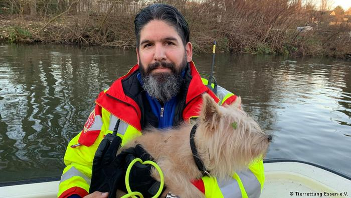 Керівник Служби порятунку тварин в Ессені Штефан Вітте